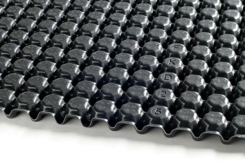 Optigrün-Drän- u. Wasserspeicherplatte FKD 25