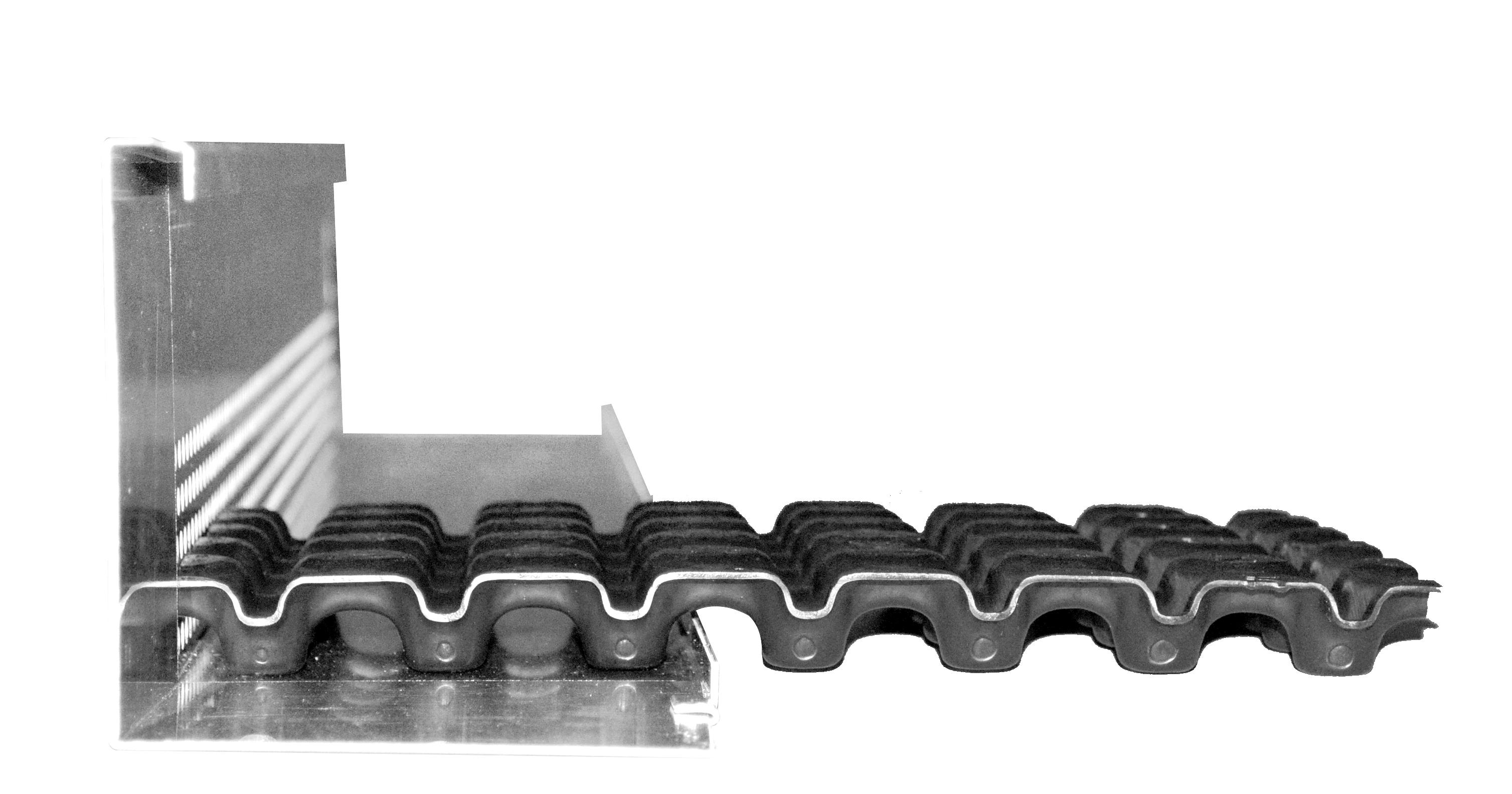 Optigrün-Randabschlussleiste RL 120 inkl. 1 Verbinder