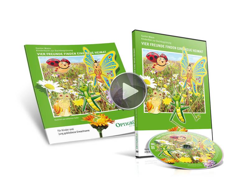 Kombi-Paket: Kinderbuch + Kinderfilm
