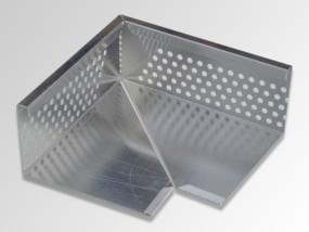 Optigrün-Eckelement für Kiesleiste ZP 80