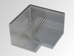 Optigrün-Eckelement für Kiesleiste ZP 120