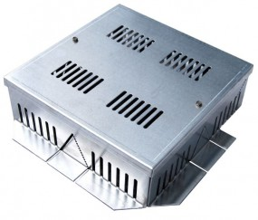 Optigrün-Aluminium-Randkontrollschacht