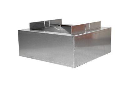 Optigrün-Aluminium-Randkontrollschacht Aufstockung 100mm